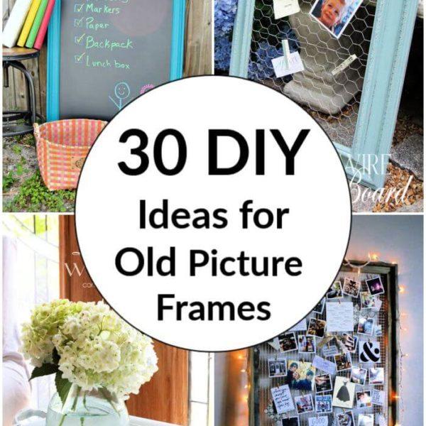30 Best DIY Ideas for Old Picture Frames diy old picture frame ideas ideas for old photo frame old photo frame ideas