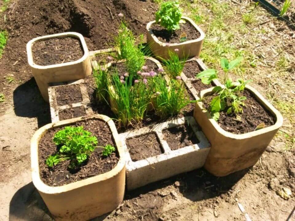 Build A Raised Herb Garden in Steps