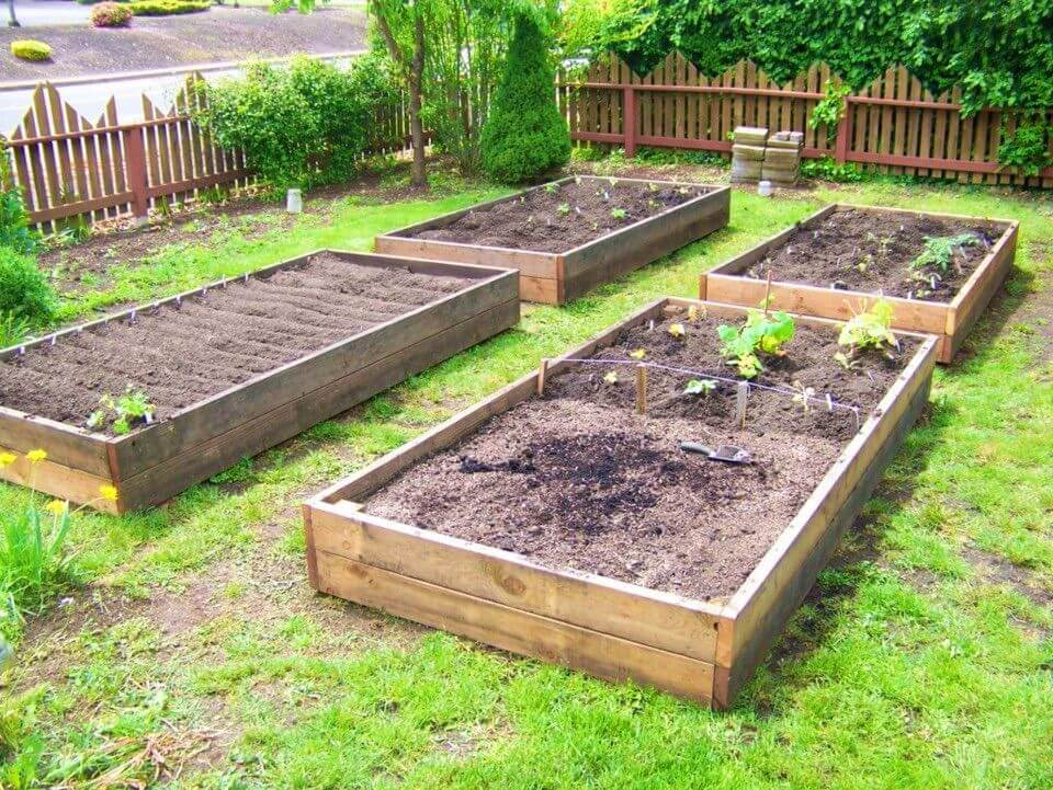 Build Raised Garden Beds From Reclaimed Wood