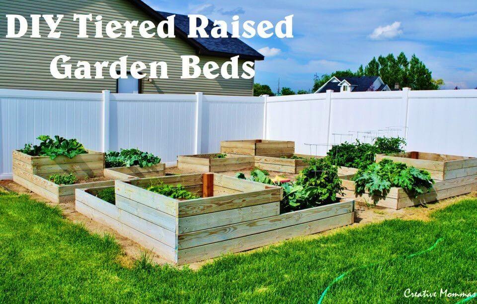 Build Tiered Raised Garden Beds