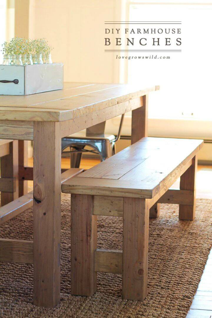 Build Your Own Farmhouse Bench