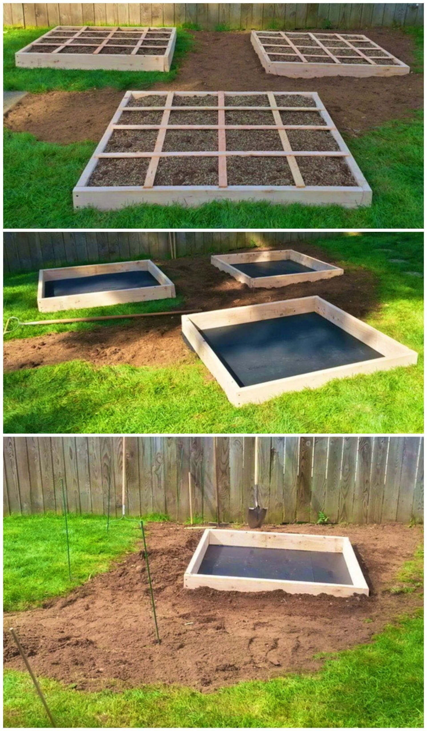 Build Your Own Square Foot Garden