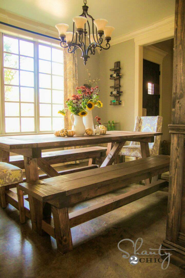 Build a Bench for the Dining Table