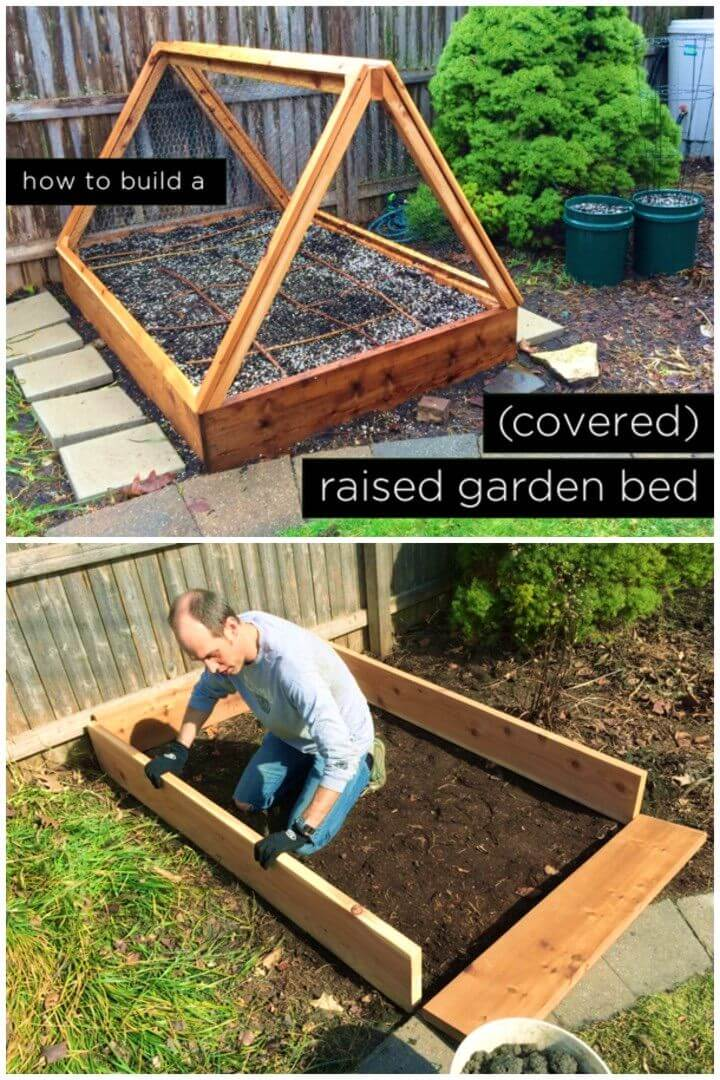 Build a Covered Raised Garden Bed
