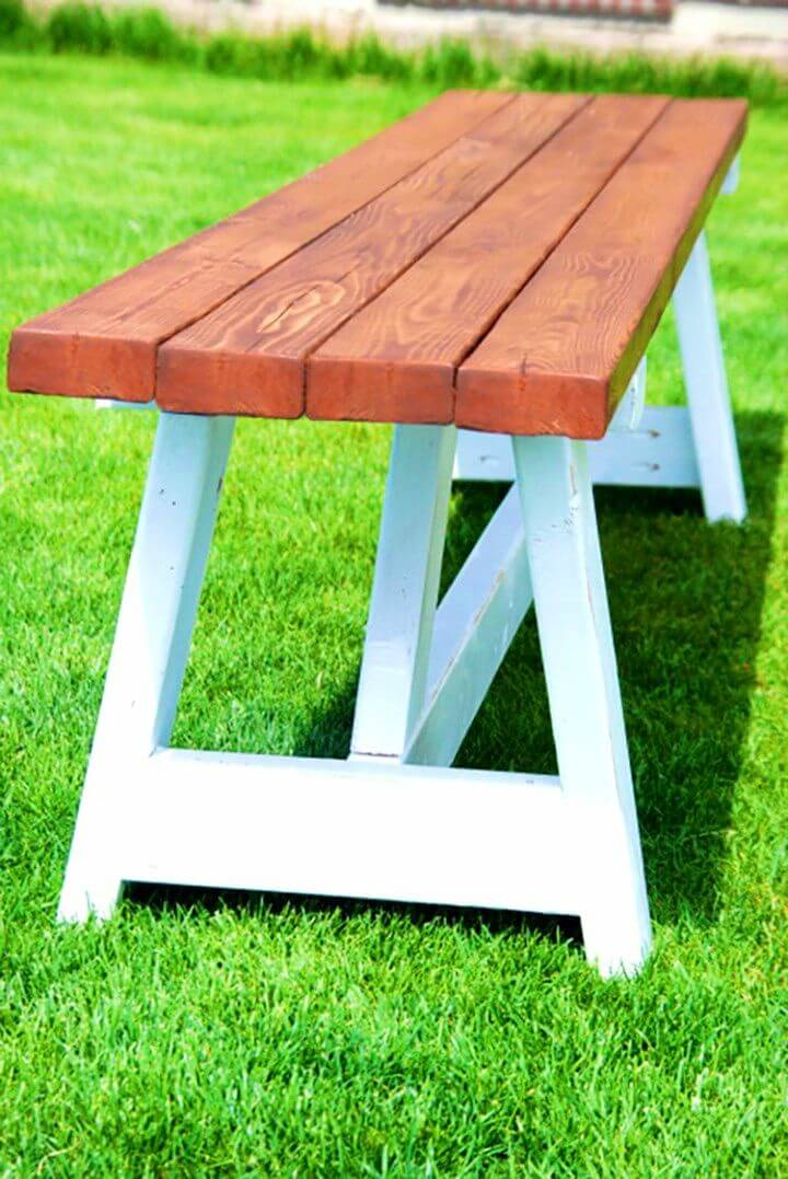 Build a Farmhouse Bench