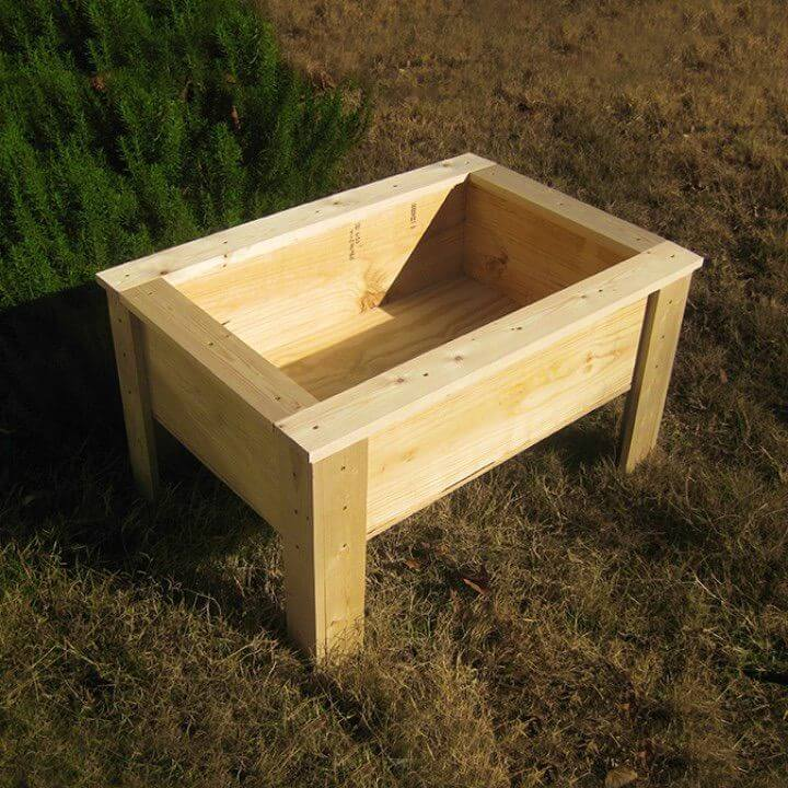 Build a Starter Raised Bed For Kids