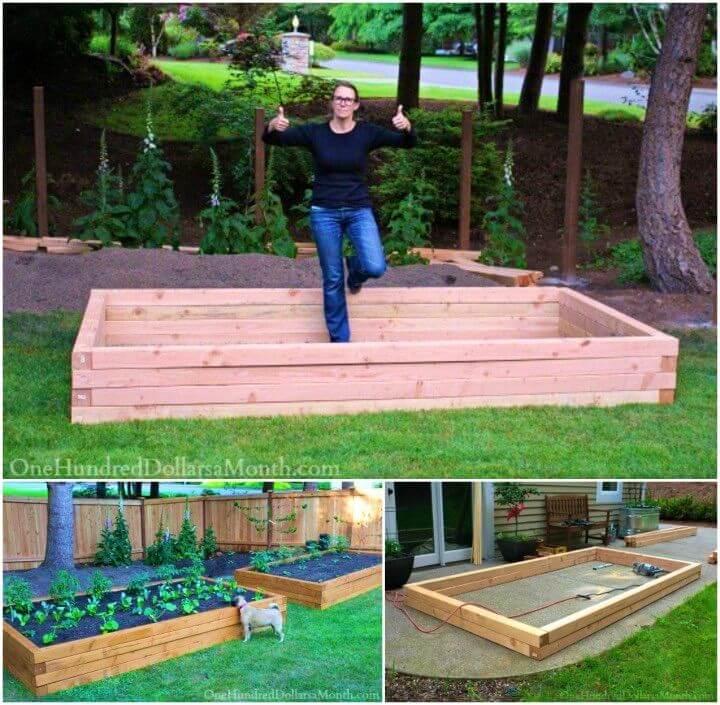 DIY Raised Garden Beds for Growing Vegetables