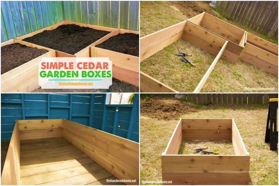 DIY Riased Garden Box Easy Project