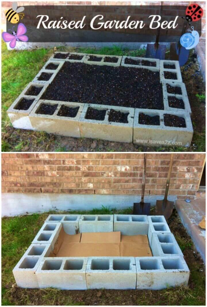 Easiest DIY Raised Bed Garden Design