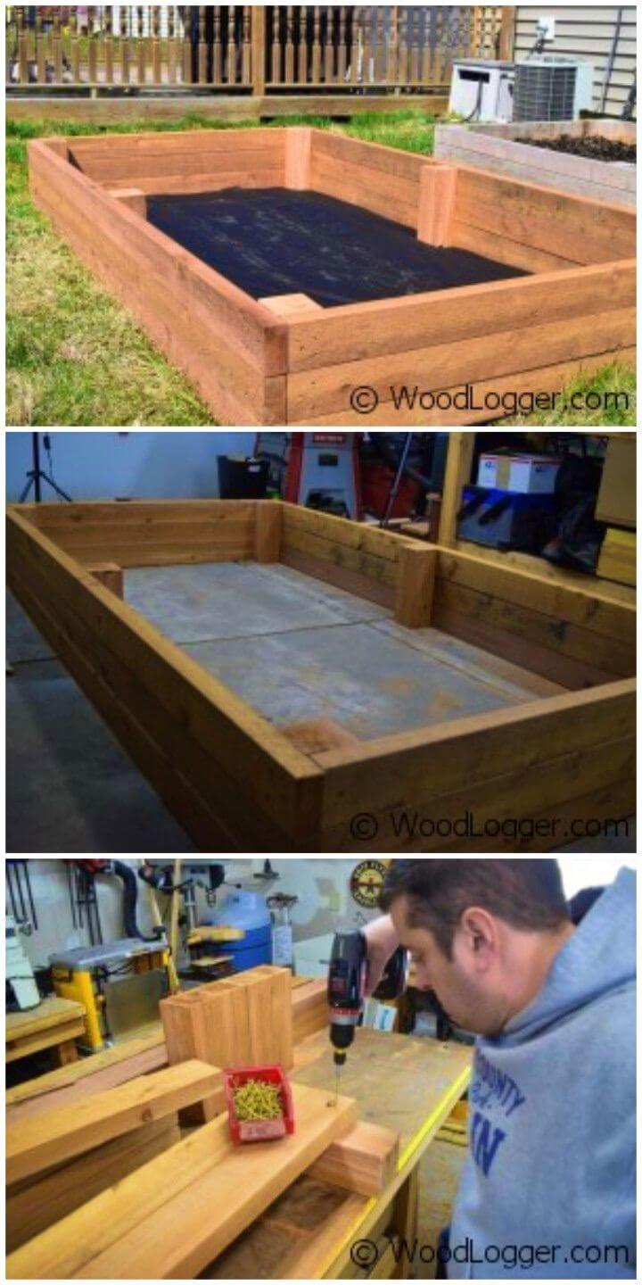 Easy to Build a Raised Garden Bed