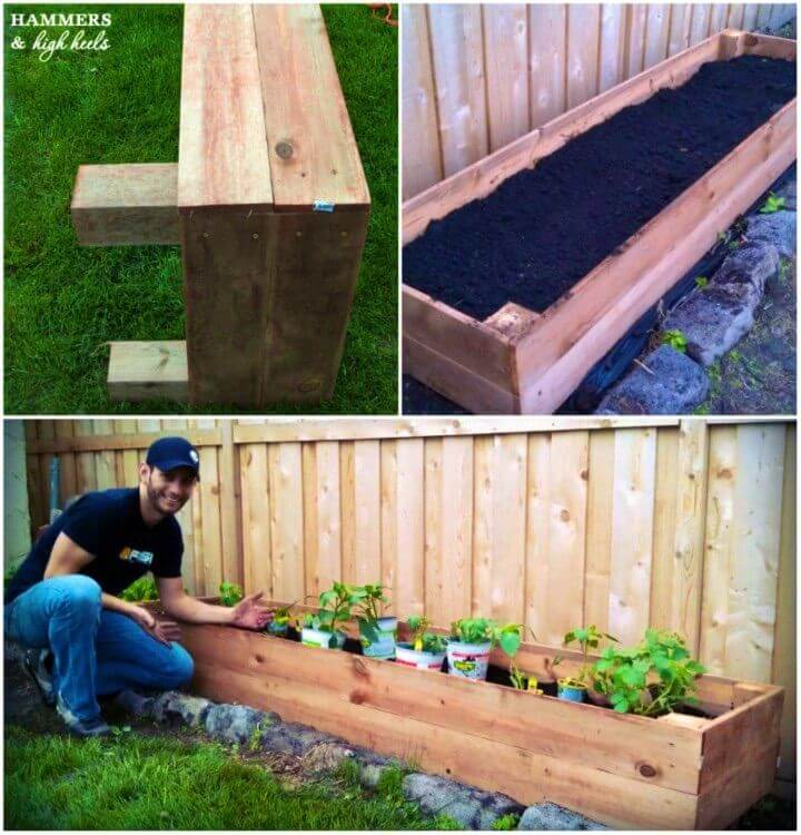 How To Build a Raised Garden Bed Memorial Day Mini Project