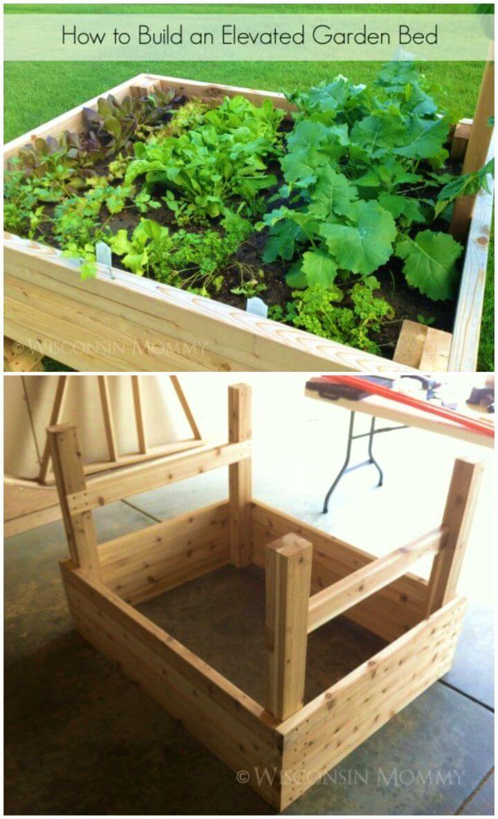 How To Make Elevated Raised Garden Bed
