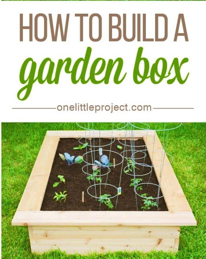 How To Make Raised Garden Box