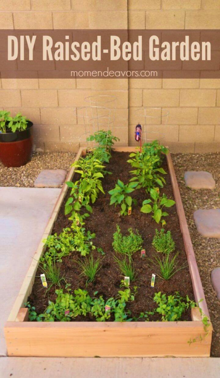 How to Build Raised Bed Garden Simple Project