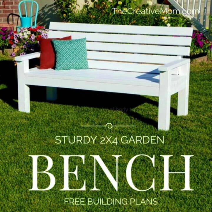 How to Build Sturdy Garden Bench