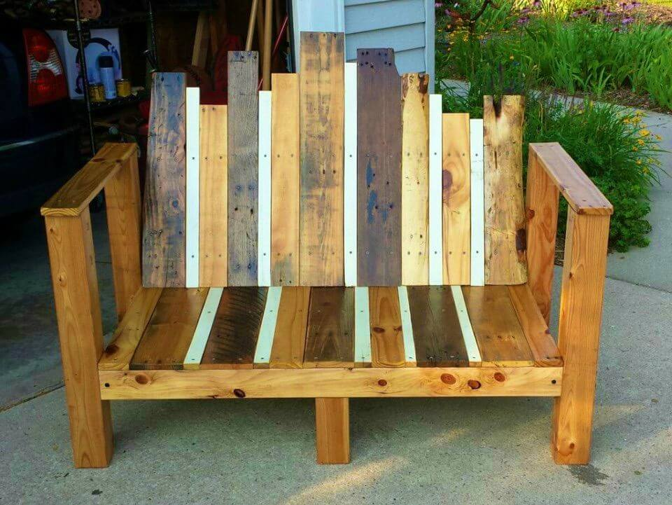 How to Make Outdoor Bench