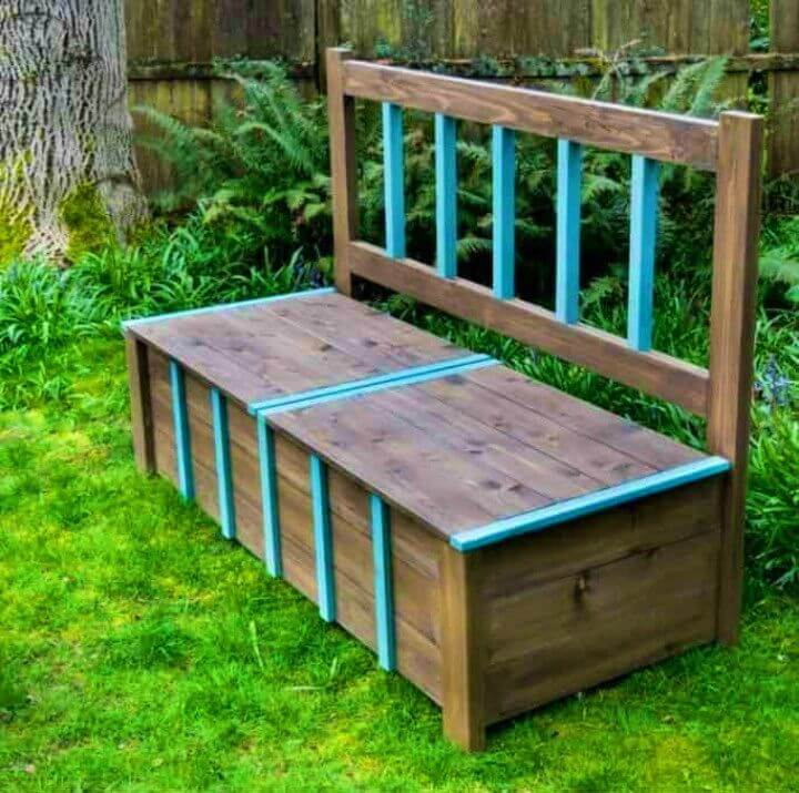 How to Make Storage Bench