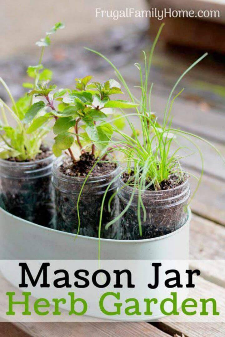 How to Make Windowsill Herb Garden