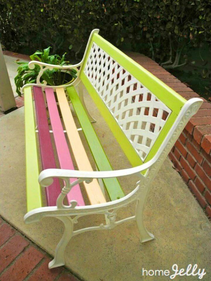 Make Your Own Park Bench
