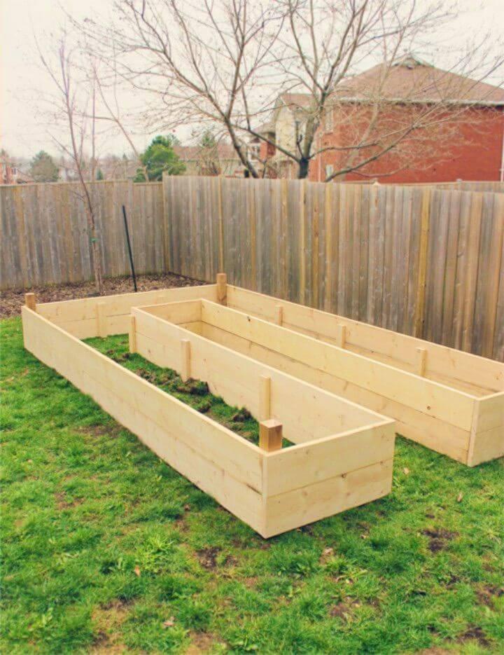 Simple Building Raised Garden Beds Tutorial