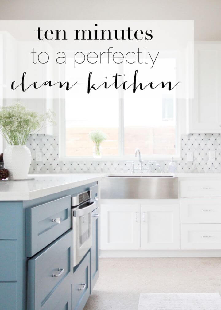 10 Minutes to a Clean Kitchen