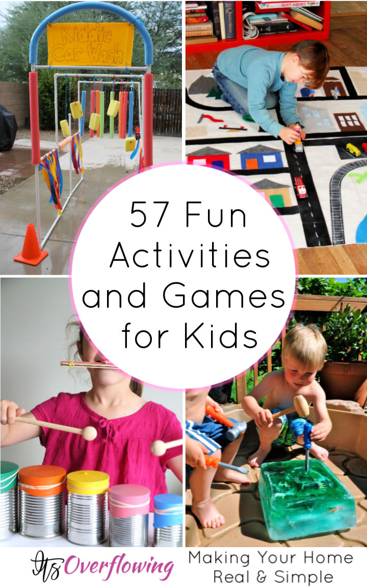 57 Free Fun Activities for Kids That Makes Them Happy