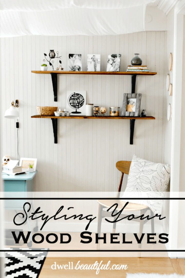 How To Build Wood Shelves In The Bedroom - DIY