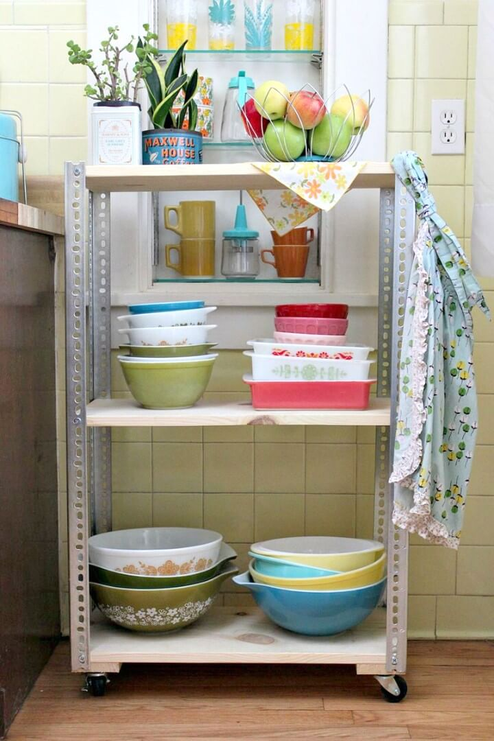 Build Your Own Wooden Shelving Unit - DIY
