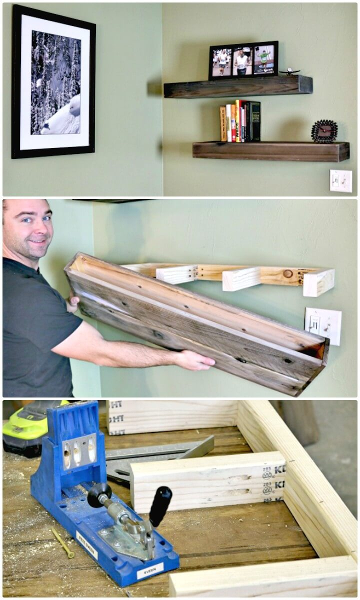 Build Your Own Wood Floating Shelf - DIY