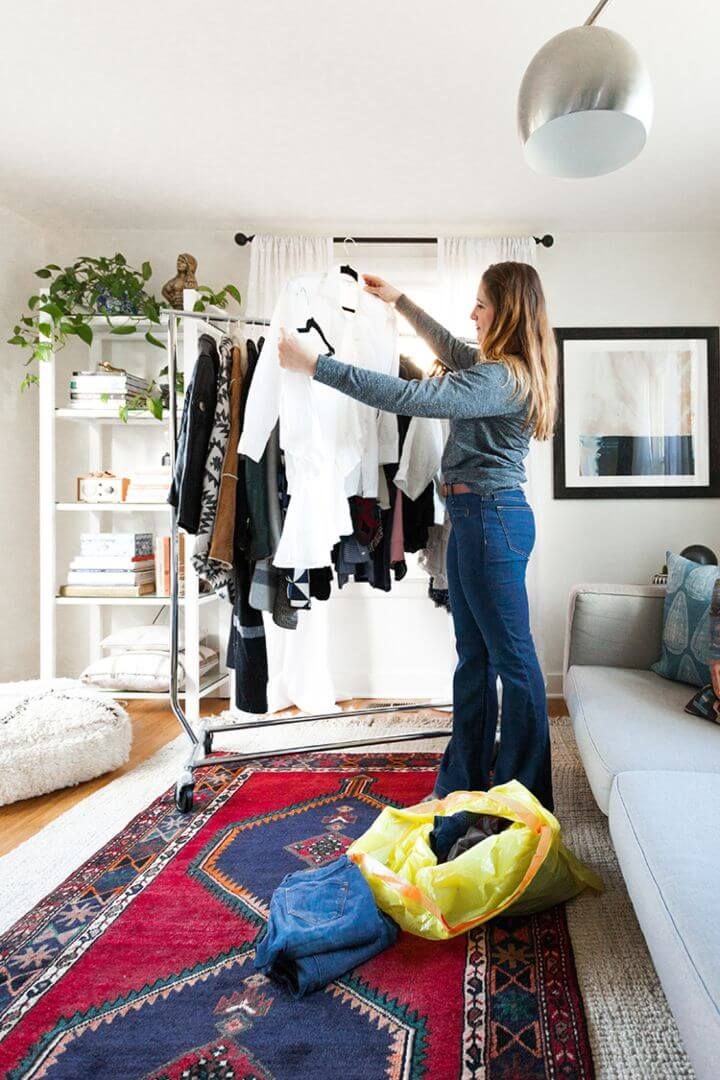 Closet Clean out Tips For a Tiny House