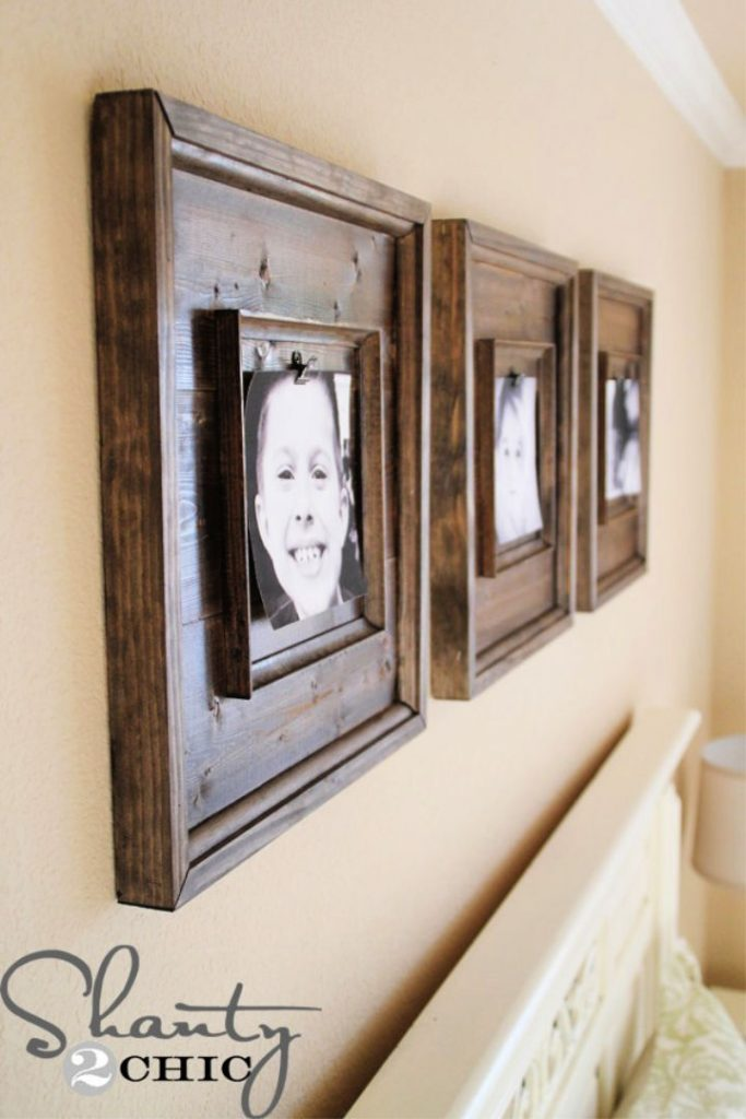 DIY 15 Wooden Picture Frames