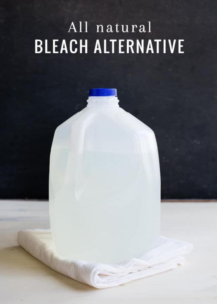 DIY 3 ingredent Natural Bleach
