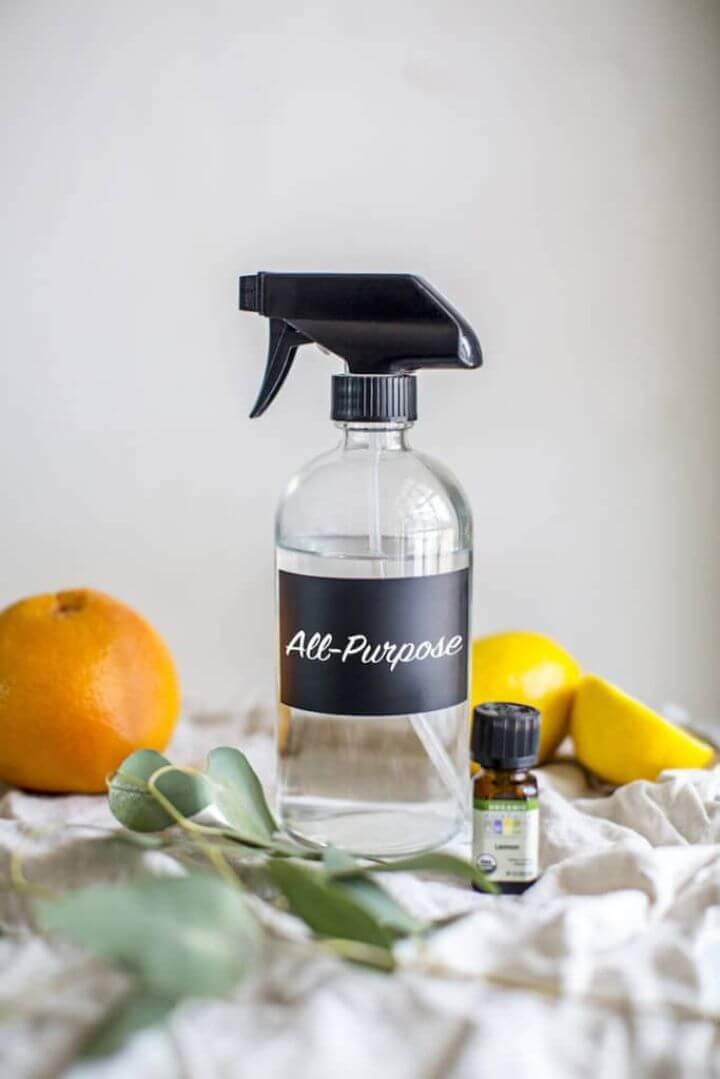 DIY 3 ingredient Natural All purpose Cleaner