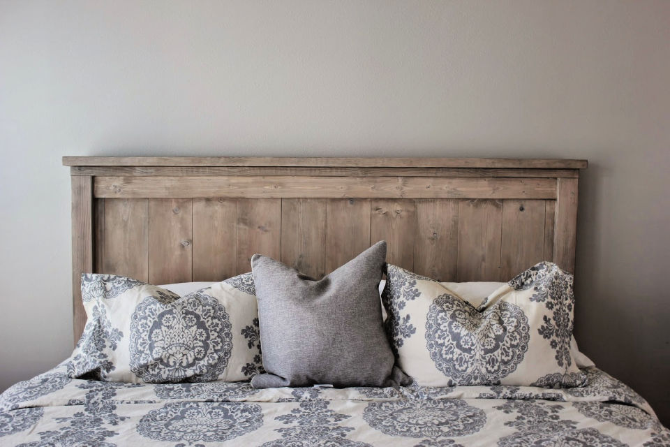 DIY Bed Frame Headboard