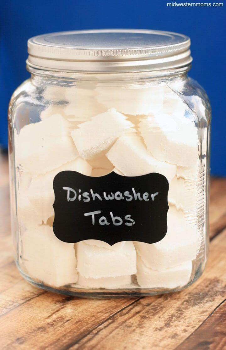 DIY Dishwasher Tabs