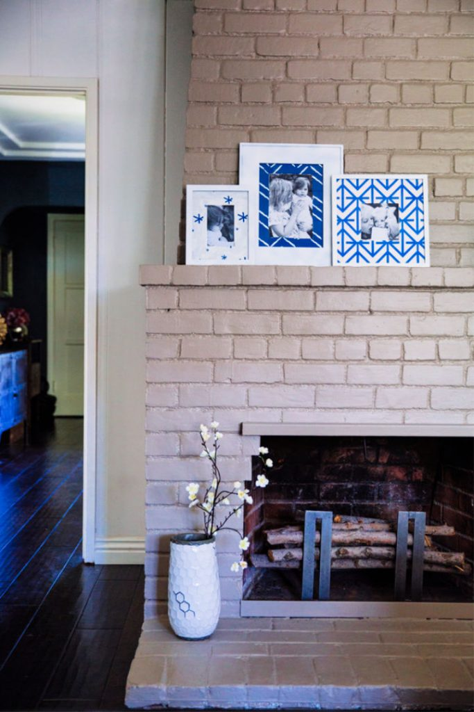 DIY Fabric Mats Frames with Minted
