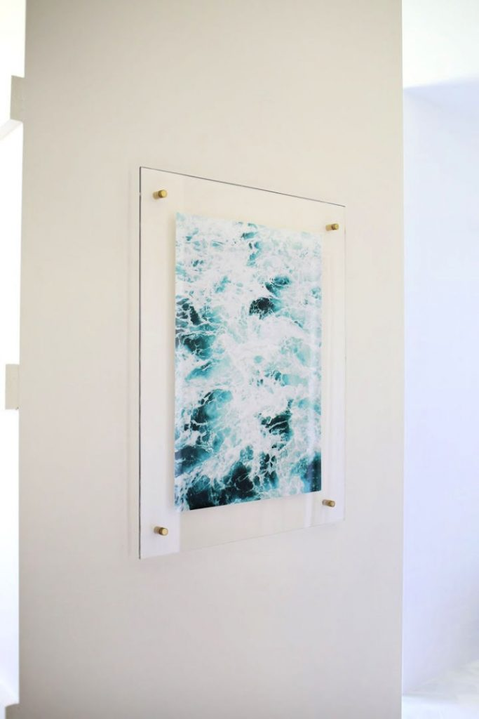 DIY Floating Acrylic Frame