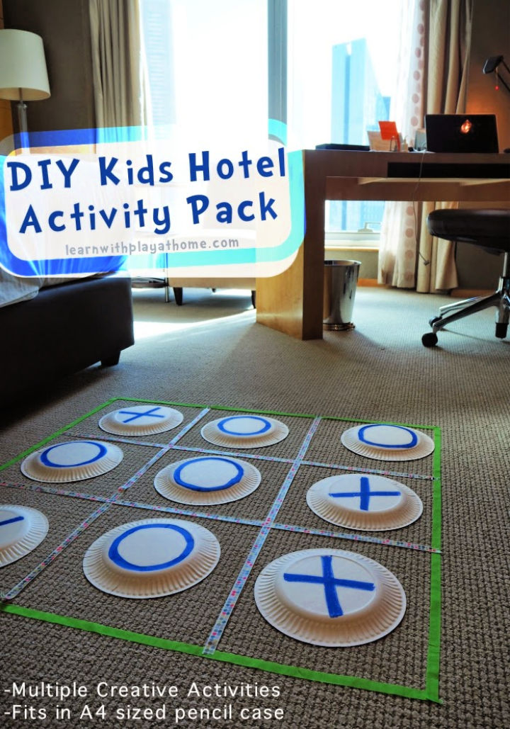 DIY Kids Hotel Activity Pack