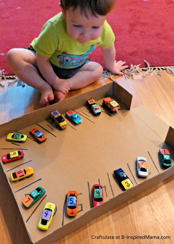 DIY Numbers Game Car Parking