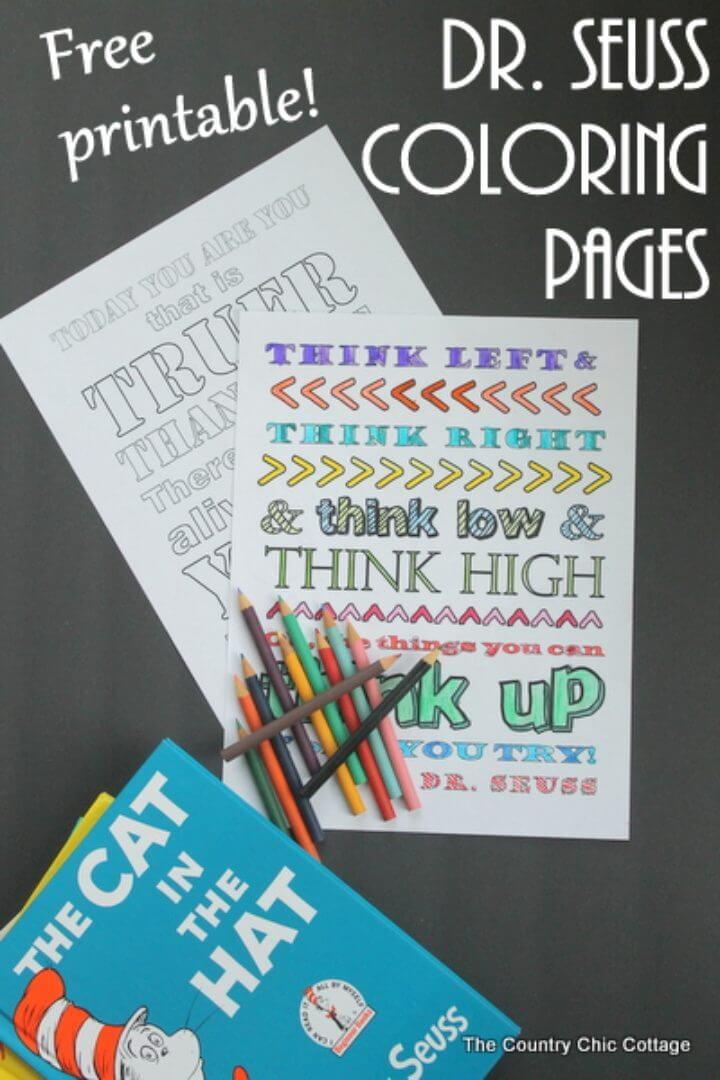 Dr. Seuss Coloring Pages