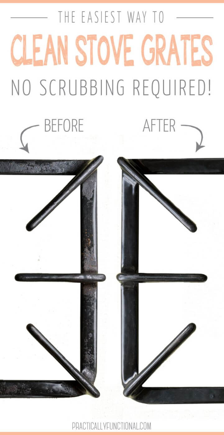 Easiest Way To Clean Stove Top Grates