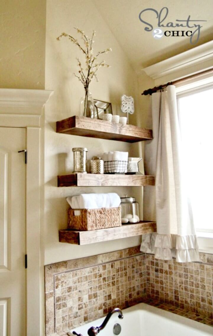 Build Your Own Floating Shelves - DIY