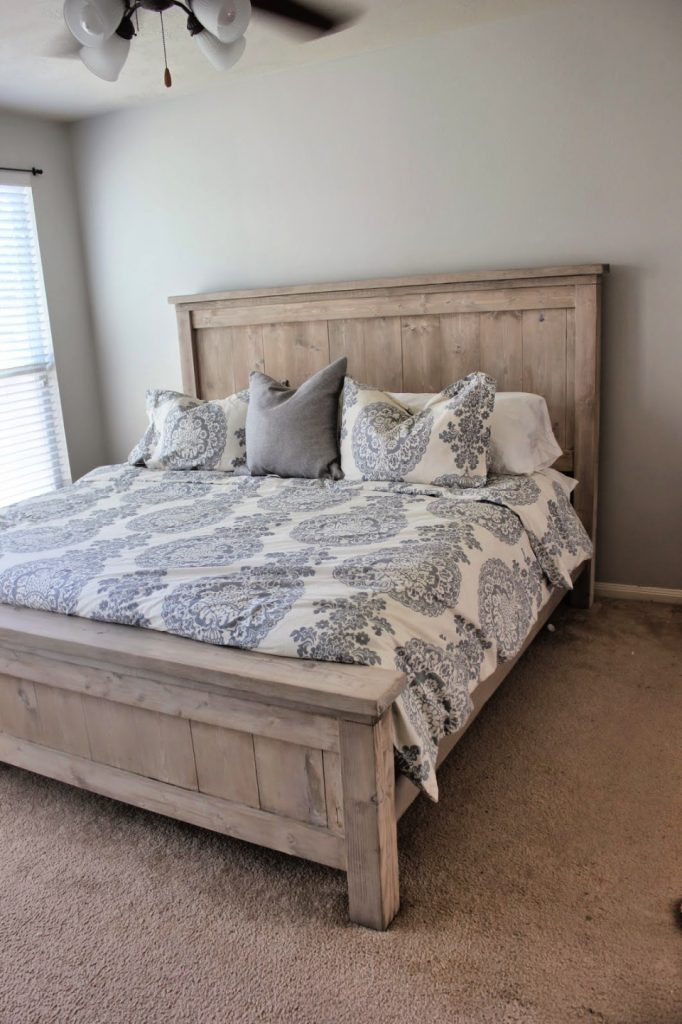 Easy DIY Bed Frame