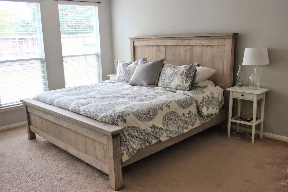 Easy DIY Bed Frame Plan