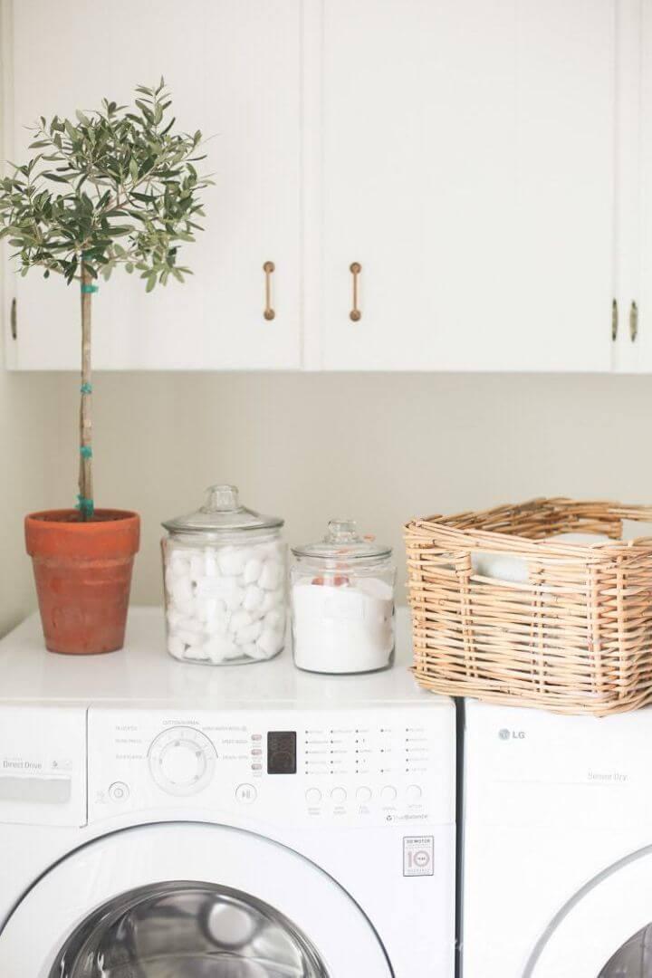 Easy and Beautiful Laundry Room Organization Ideas