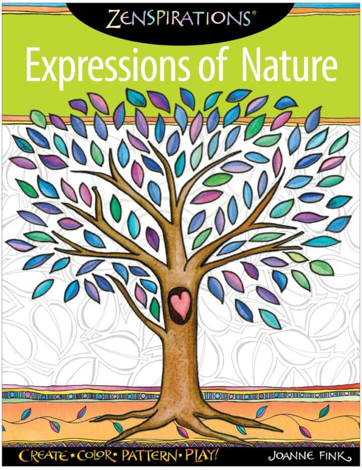 Expressions Of Nature Coloring Pages