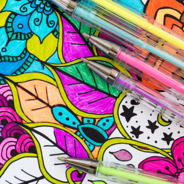 Free Adult Coloring Pages with Printable PDF