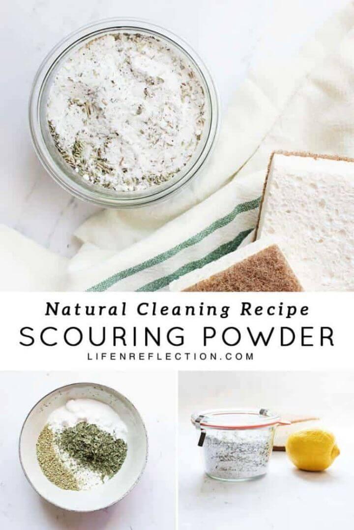 Herbal Homemade Scouring Powder