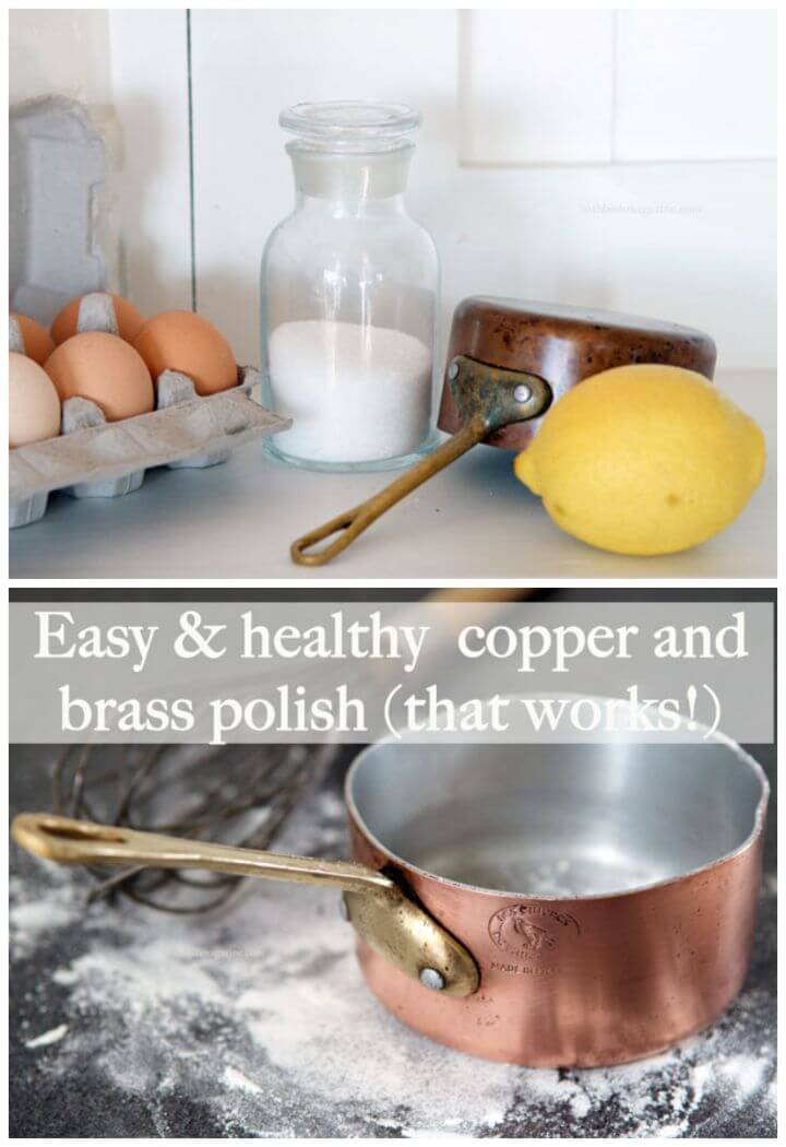 Homemade Copper and Brass Polish