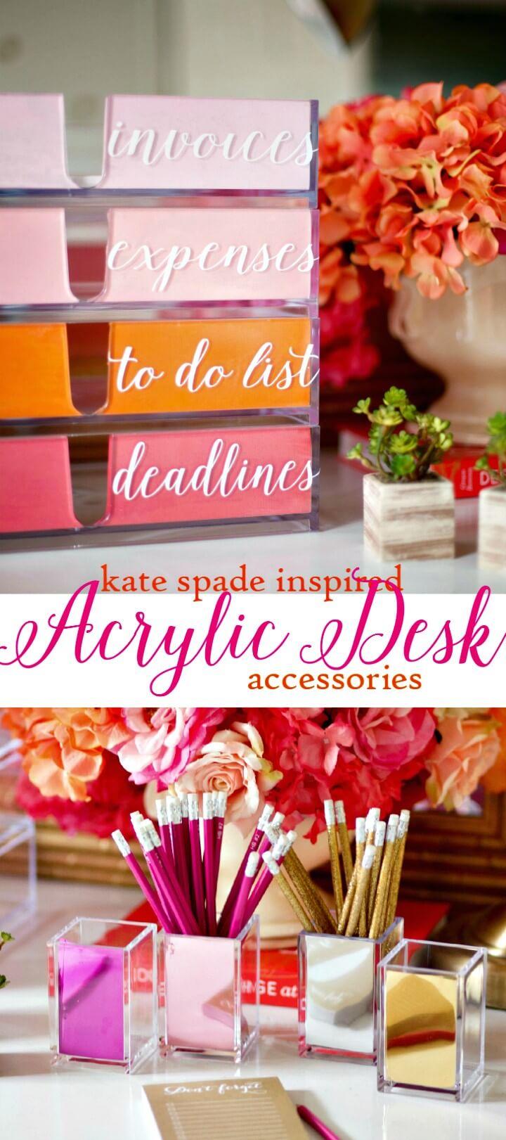 How To Create Stylish Desk Organizer
